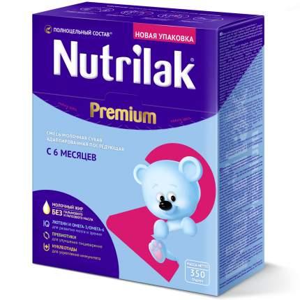 Молочная смесь 2 (от 6 до 12 мес.) Nutrilak Premium 350 г