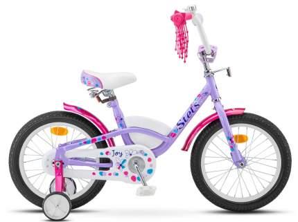 Велосипед STELS Joy 16 2017 onesize Joy 16 фиолетовый/розовый LU085308