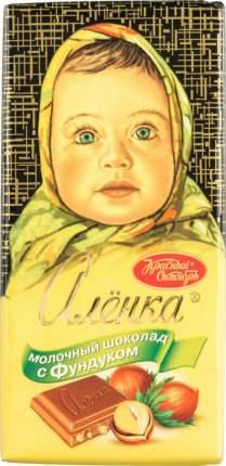 Шоколад молочный Аленка с фундуком 100 г