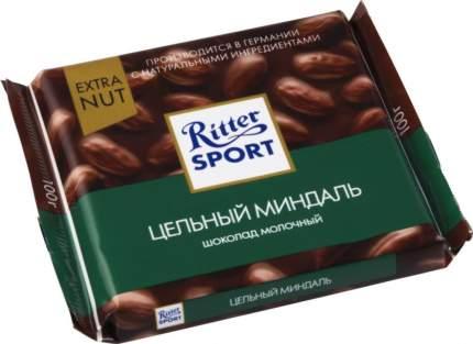 Шоколад молочный Ritter Sport extra nut цельный миндаль 100 г