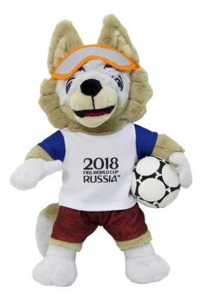 Мягкая игрушка FIFA-2018 Волк Забивака плюшевый 18 см