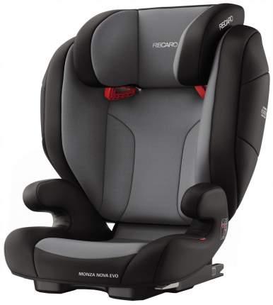 Автокресло RECARO Monza Nova EVO Seatfix группа 2/3, Черный (6159-21502-66)
