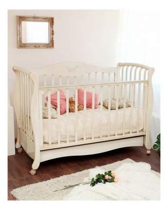 Кровать Красная звезда Елизавета бабочки античная слоновая кость
