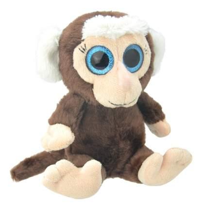 Мягкая игрушка Wild Planet Мартышка 19 см коричневый бежевый k8171