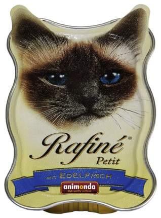 Консервы для кошек Animonda Rafine Petit, рыба, лосось, мясо, 85г