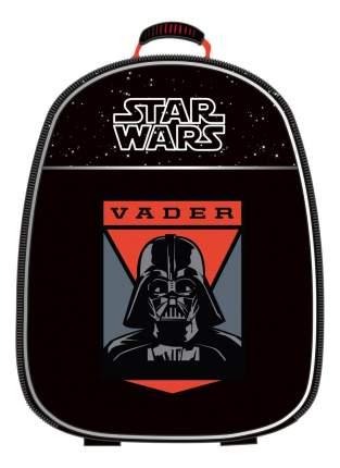 Рюкзак детский ErichKrause Star Wars с эргономичной спинкой черный/красный