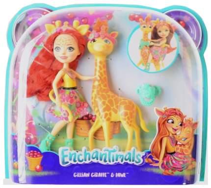 Игровой набор Enchantimals с куклой Gillian Giraffe & Pawl FKY72 FKY74