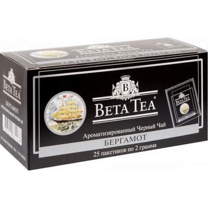 Чай черный Beta Tea бергамот 25 пакетиков