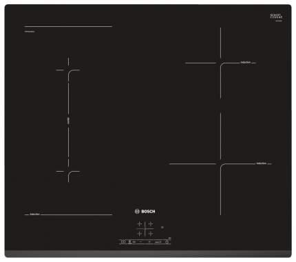 Встраиваемая варочная панель индукционная Bosch PWP631BB1E Black