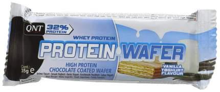 Протеиновый батончик QNT Protein Wafer 35 г йогурт