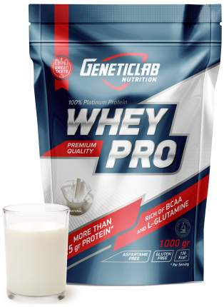 Протеин GeneticLab Nutrition Whey Pro 1000 г Unflavored