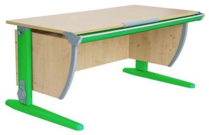Парта Дэми СУТ 15-02Д с задней, двухъярусной задней и боковой приставками Зеленый 120 см