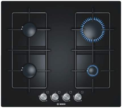 Встраиваемая варочная панель газовая Bosch PPP616B81E Black