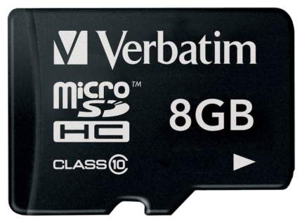 Карта памяти Verbatim Micro SDHC44012 8GB