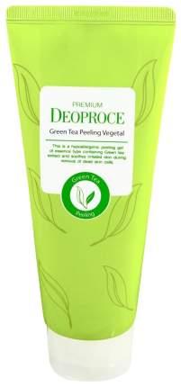 Пилинг для лица Deoproce Green Tea Peeling Vegetal 170 мл