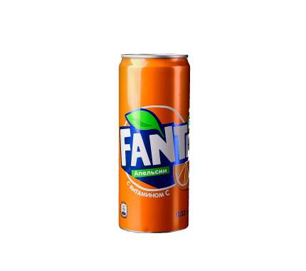 Напиток газированный Fanta апельсин жестяная банка 0.33 л