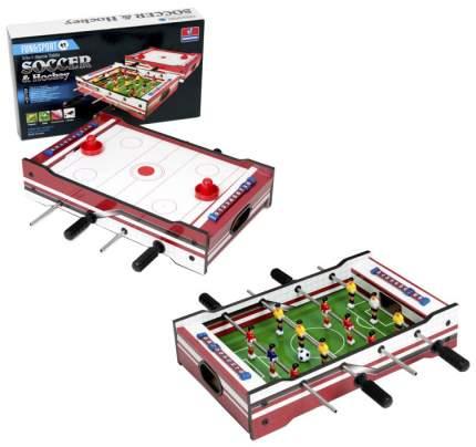 Спортивная настольная игра Partida Детский 52 HG267-2 футбол и Аэрохоккей