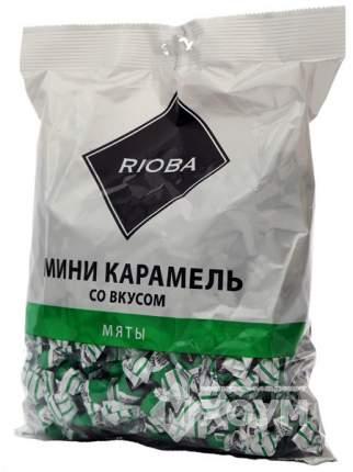 Карамель Rioba леденцовая мини со вкусом мяты 500 г