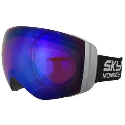 Горнолыжная маска Sky Monkey SR46 RV 2018 Blue