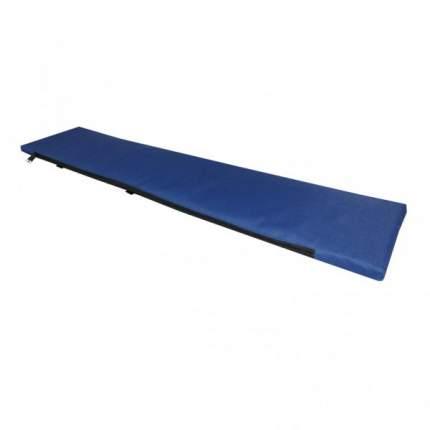 Сиденье-накладка на банку, длина 82 см, синяя