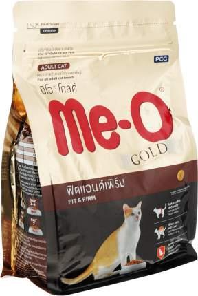 Сухой корм для кошек Me-O Gold, здоровье и поддержание выставочной формы, 0,4кг