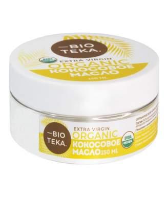 Органическое кокосовое масло Биотека нерафинированное Extra Virgin 150 мл