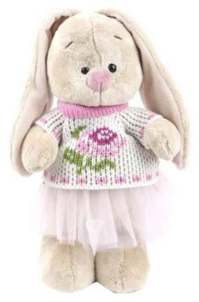 Мягкая игрушка BUDI BASA Зайка Ми в жаккардовом свитере и юбке, 25 см