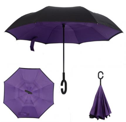 Зонт-трость UpBrella фиолетовый