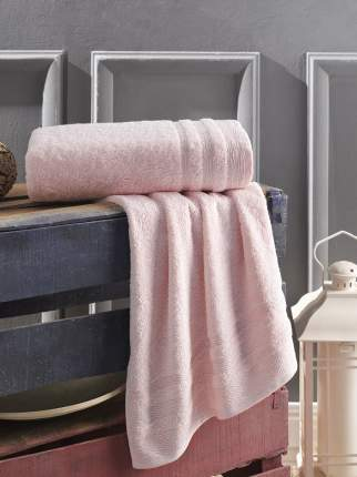 Полотенце Karna Folona Цвет: Розовый (50х90 см)