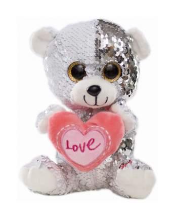 Мягкая игрушка Sima-Land Медведь с сердцем 4462325