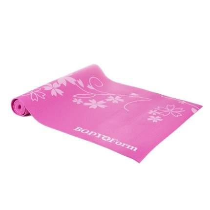 Коврик гимнастический Body Form BF-YM02 173*61*0,4 см. (розовый)
