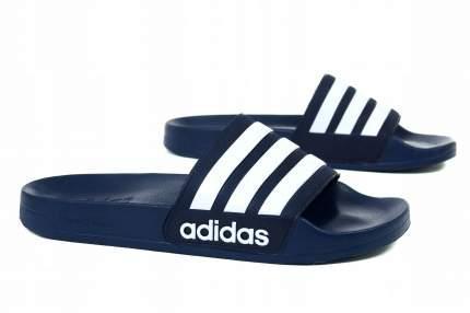 Шлепанцы Adidas Cloudfoam Adilette, navy/white, 9 US