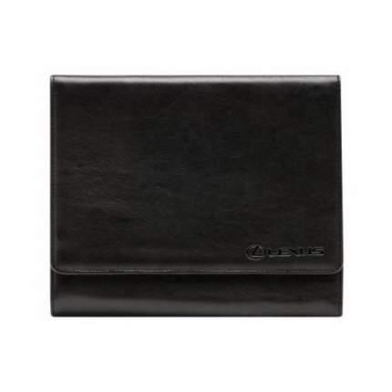 Кожаная папка для сервисной книжки Lexus OTOY14100L Black