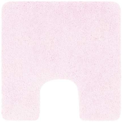Коврик для туалета Spirella Highland, 55х55см, полиэстер, цвет светло-розовый