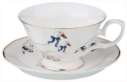 Чайная пара Lefard Гуси 54-506 1 персона