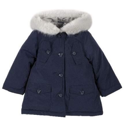 Куртка Chicco для девочек р.122 цв.темно-синий