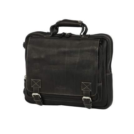 Рюкзак кожаный Bufalo TRP-03 черный
