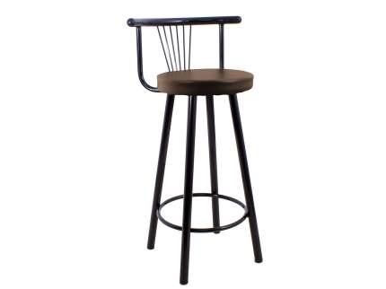 Мягкий барный стул для кухни Амис Барный Стиль Шоколад