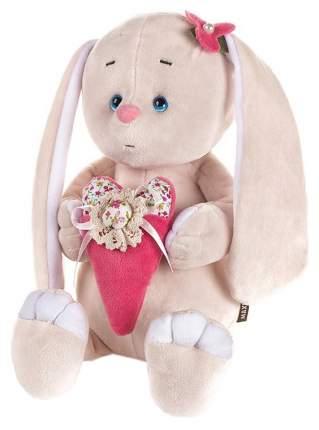 """Мягкая игрушка """"Романтичный зайчик с розовым сердечком"""", 25 см, арт. MT-GU092018-9-25"""