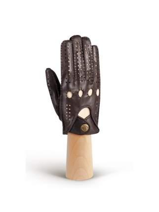 Перчатки мужские Eleganzza HS011M коричневые 8.5