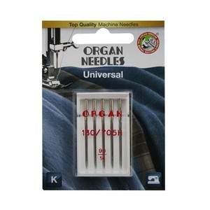 Иглы Organ универсальные 5/70- 90 Blister