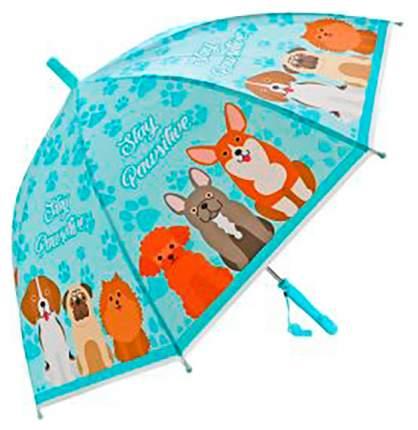 Зонт детский Mary Poppins  щенки, 48см, свисток, полуавтомат