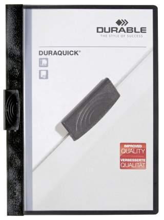Папка с прижимным механизмом DURAQUICK 227001 Czarny А4