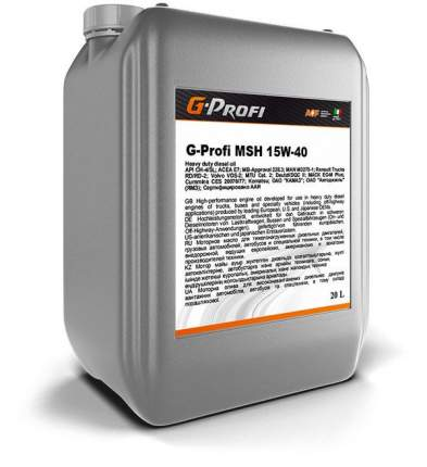 Моторное масло G-Energy G-Profi MSH 15W-40 20л
