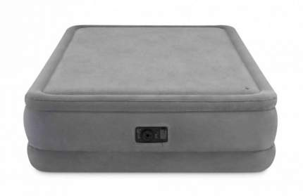 Надувная кровать INTEX Foam Top Airbed, Queen, со встроенным насосом, 152*203*51 см