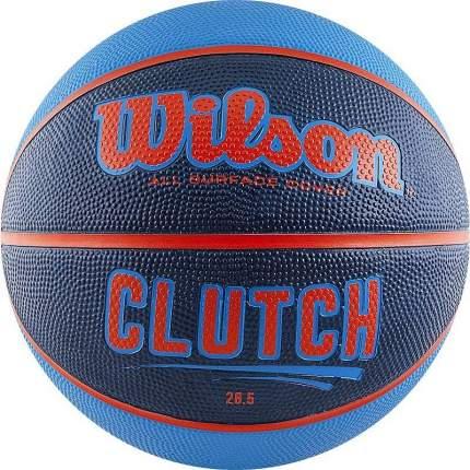 Баскетбольный мяч Wilson Clutch №7 blue