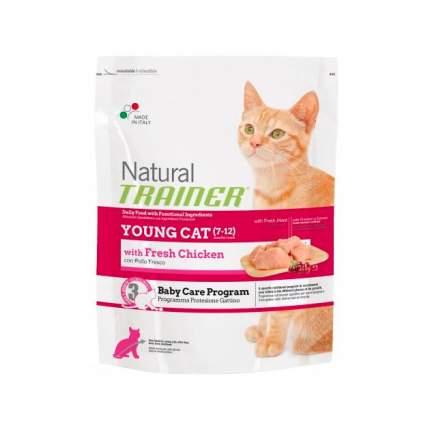 Сухой корм для котят TRAINER Natural Young Cat, от 7 до 12 месяцев, курица, 1,5кг