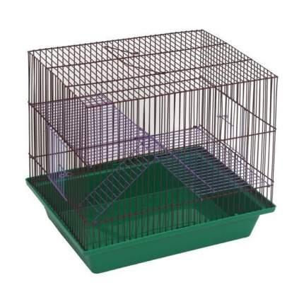 Клетка для грызунов ZooMark, 3-этажная (ж), 36х24х38см
