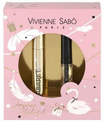 Подарочный набор Vivienne Sabo тушь Cabaret premiere тон 01+гель для бровей Fixateur