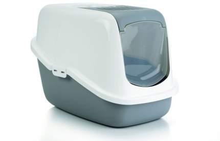 Туалет-домик Beeztees Nestor для кошек (Серый)